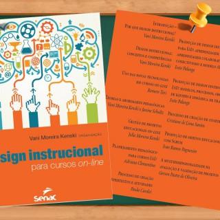 """Professor do LPAI,  participa do livro """"design Instrucional para cursos on-line"""""""