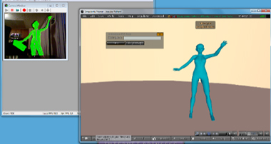 A produção artística em ambientes multiutilizadores 3D