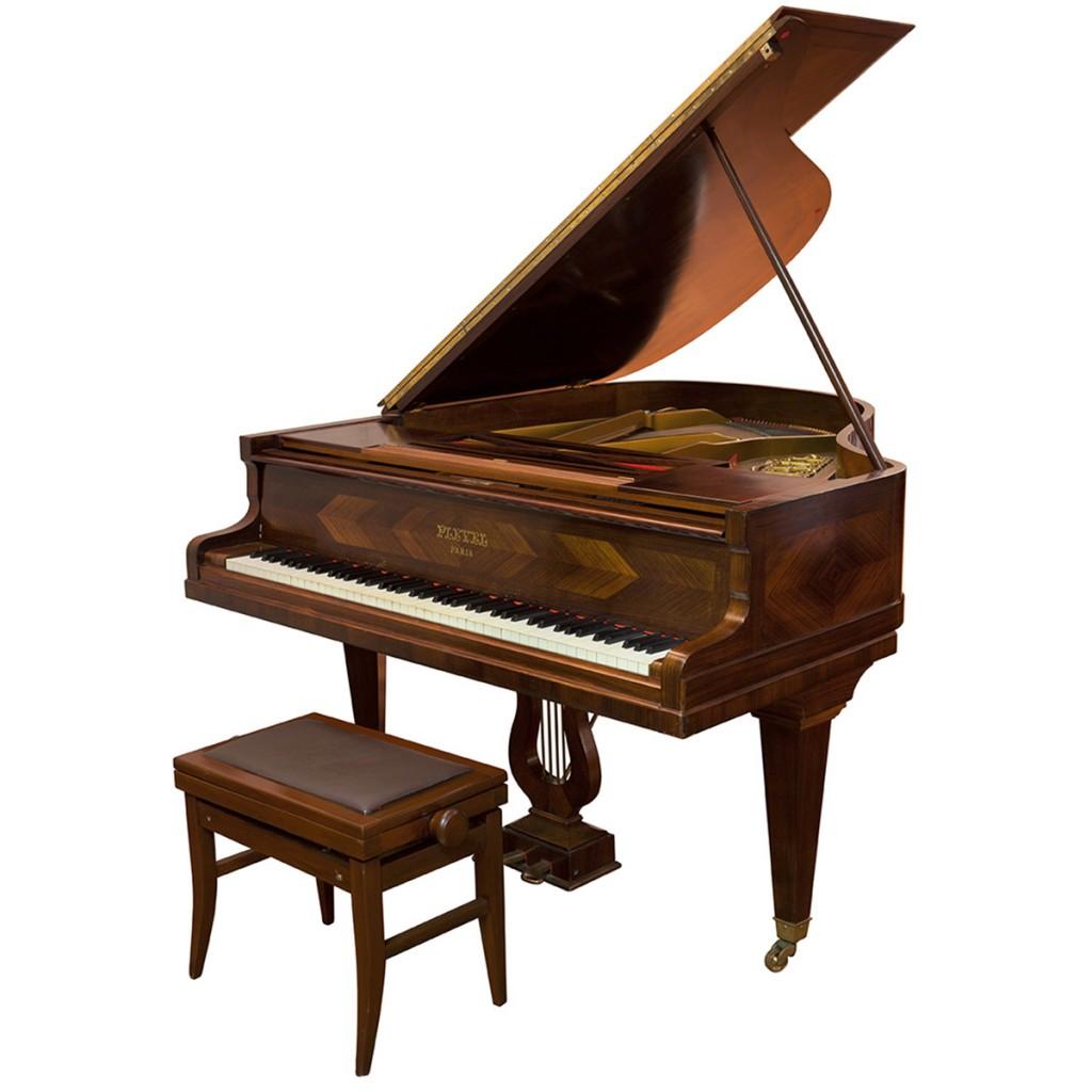 piano de meia-calda Pleyel estilo art déco – França, década de 1920