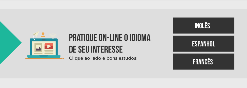 Pratique on-line o Idioma de seu interesse